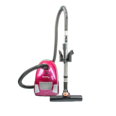 Jill Sub Compact Size Canister 10 Amp Floor It Brush Hepa Filtration 18' Cord Watermelon Pink 2 Year Warranty