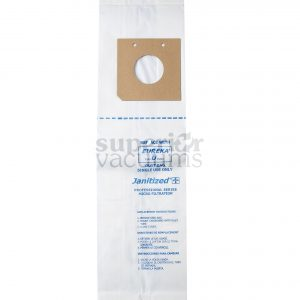 Paper Bag Eureka U Fits Eureka 7600-7900, 9000 Uprights - Micro Filter Case Of 10 10Pks
