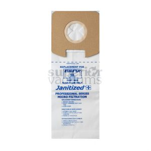 Sanitaire Upright Paper Bag Style Sl 3 Pack Sc782 Sc785 Janitized