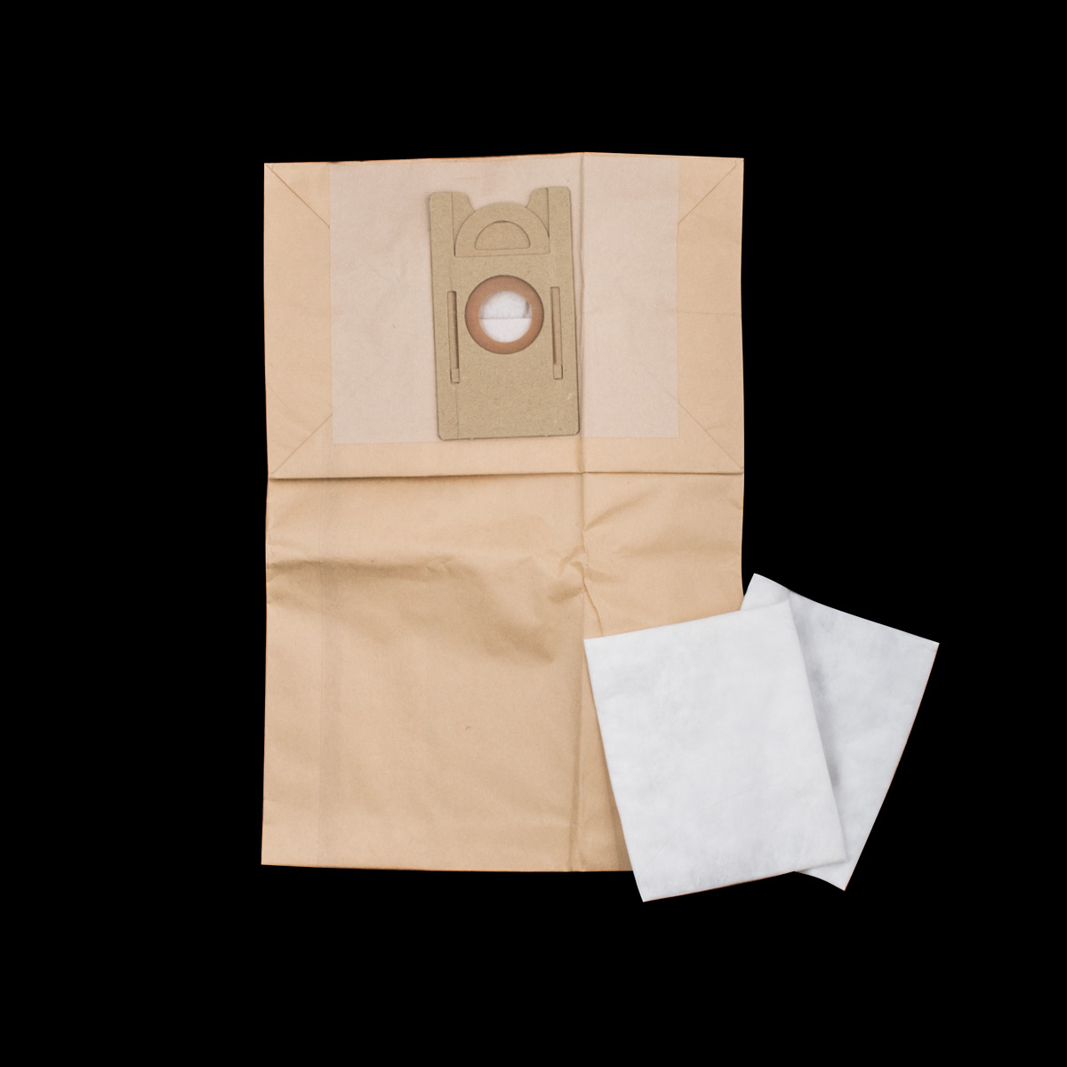 Paper Bag Fits Model Hf6 6 Pack And 2 Exhaust Filters Square Type New Model Without Centre Tank Filter