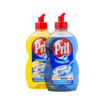 Pril Dish Liquid Power Blue Gel 500Ml