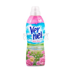 Vernel Wild Rose Fabric Softener 1L Pink Bottle
