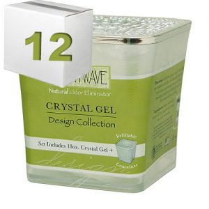 Wave Crystal Gel 18Oz. Refillable Design Collection Case Of 12