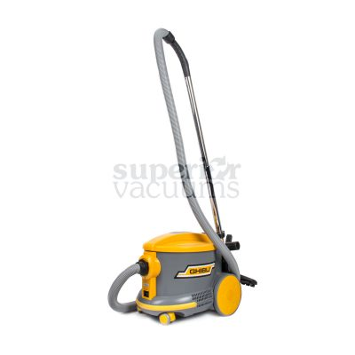 """As6 4 Gallon Dry Canister Vacuum With Tools Floor Brush Wands Air Hose 2 Blade Receptacle 56 Db 1 1/4"""" Hose And Tools 1 Year Warranty"""
