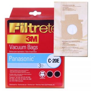 Panasonic Paper Bag For Canister Mccg467 Type C17 C20 3 Pack 3M