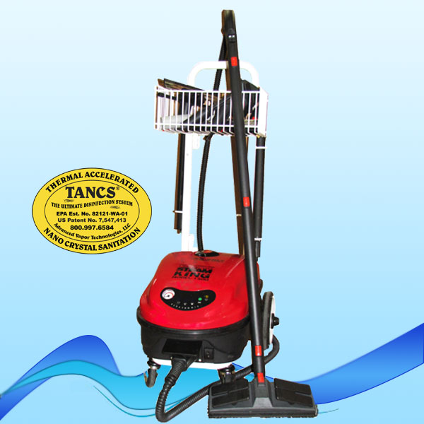 SteamKing 1500 Steam Cleaning System with TANCS© Disinfection Technology