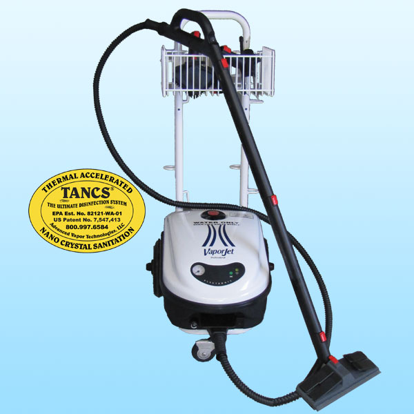 VaporJet with TANCS© Steam Cleaning System