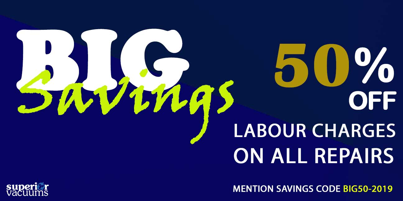 50% OFF Labour Charges On All Repairs